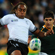 Gaby Lovobalavu of Fiji chips the ball over the South Africa defence. Photo / Getty Images