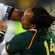 Sunia Koto of Fiji is tackled by Odwa Ndungane of the Springboks. Photo / Getty Images
