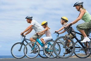 The map will help people plan safe cycling trips to work, local attractions, parks and rides. Photo / Thinkstock