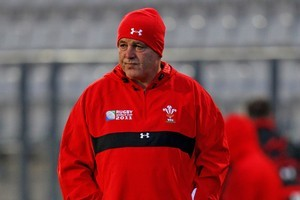 Warren Gatland is an unspoken candidate for the top job in his native country. Photo / Getty Images