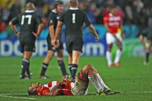 The All Blacks smashed Japan. Photo / Getty Images