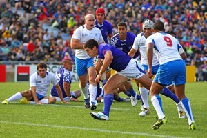 Aucklander Paul Williams says it's a privilege to play for Samoa. Photo / Getty Images