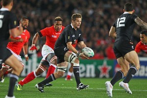 Richie McCaw is going to be the first New Zealander to get 100 tests. Photo / Getty Images