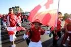 A place in the World Cup's opening match created a lightning rod for Tongan pride. Photo / Dean Purcell