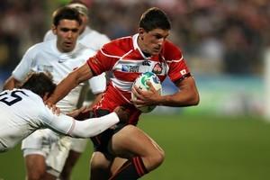 New Zealander James Arlidge began playing rugby in Japan in 2004. Photo / Janna Dixon