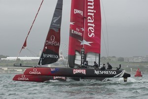 Emirates team New Zealand. Photo / Supplied