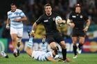 Only Ben Foden looked to be capable of unpicking Argentina's defence. Photo / Getty Images