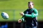 Ireland player Gordon D'Arcy says the centre pairing is not telepathic, just well practised. Photo / Brett Phibbs