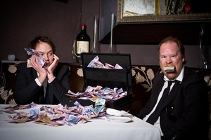 Hugh Sundae and Ant Timpson. Photo / Milana Radojcic