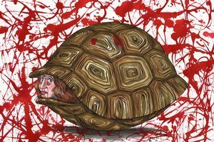 Sometimes it's good for us to be in our shell. Illustration / Anna Crichton