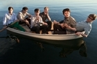 Indie guy Zach Condon (second from right) of band Beirut still gets funny looks when he heads home to Santa Fe. Photo / Supplied