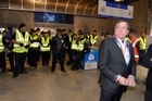 Rugby World Cup Minister Murray McCully travelled to the game. Photo / Michael Craig