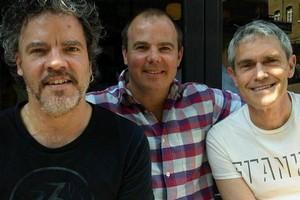 Kopapa restaurant owners Peter Gordon, Adam Wills and Michael McGrath. Photo / Supplied
