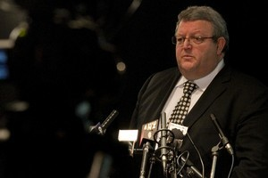Earthquake Minister Gerry Brownlee. Photo / Natalie Slade