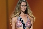 Miss Australia Scherri-lee Biggs was told to cover up. Photo / Getty Images