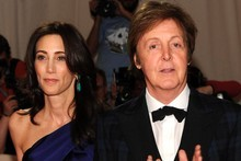 According to a source, the wedding of Sir Paul McCartney and Nancy Shevell will be 'small' and 'intimate'. Photo / AP