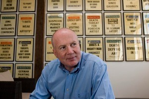 Kevin Roberts. Photo / Dean Purcell