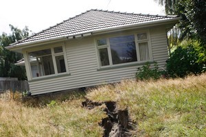 A Labour MP says hasty quake labels could affect future house sales. Photo / Sarah Ivey