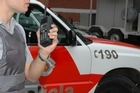 Tait radios are used by the police in Sao Paulo, Brazil. Photo / Supplied