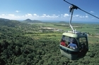 The proposed gondola ride over the Waitakere Ranges is modelled on the Skyrail Rainforest Cableway in Queensland. Photo / Supplied