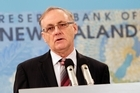 Reserve Bank Governor Dr Alan Bollard. Photo / Mark Mitchell 