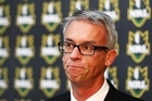 NRL CEO David Gallop. Photo / Getty Images