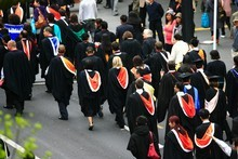 New Zealand has the seventh-most expensive tuition fees for universities, a study says. Photo / Martin Sykes