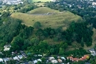 The Friends of Maungawhau have eradicated weeds and revegetated damaged ground on Mt Eden for many years. Photo / Martin Sykes