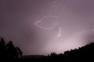 Shepherd Mike Jenkins was struck by lightning on a farm near Wairoa on Tuesday. Photo / Christine Cornege
