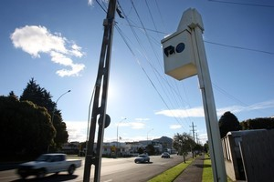 The number of speeding tickets which have been issued in the past year has almost doubled. Photo / Sam Ackland.