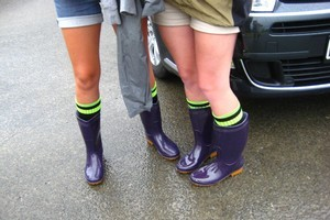 It's gumboot weather as severe weather warnings were issued for Southland, Otago, Wairarapa and Hawkes Bay. Photo / Supplied