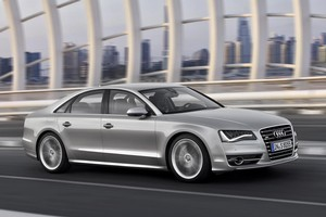 The Audi S8. Photo / Supplied