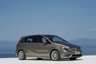 The revamped B-Class has left room for future fuel cell technologies. Photo / Supplied