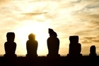 Moai each represent a special person. Photo / Archivo Fotografico Hotel Explo