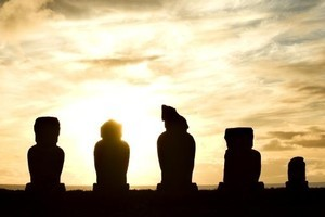 Moai each represent a special person. Photo / Archivo Fotografico Hotel Explo
