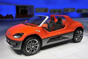 Volkswagen's Buggy Up! which showed at the Frankfurt motor show. Photo / Supplied