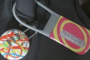 DesignGo Fab lock and Fab tag. Photo / Jim Eagles