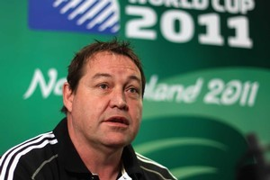 Forwards coach Steve Hansen said the core of the team which started against Tonga would be picked again this week. Photo / Getty Images