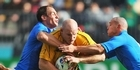 View: Key moments: Australia v Italy