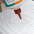 Use PVA or any other strong water-soluble glue. Photo / Sarah Ivey