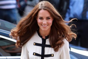 US fashion experts say Catherine, Duchess of Cambridge, wouldn't be looked at twice on the street if she wasn't a royal. Photo / AFP