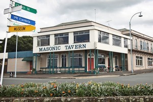 The Masonic Tavern is one of New Zealand's oldest taverns. Photo / Sarah Ivey