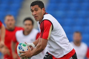 Mils Muliaina will play in his 99th test for the All Blacks. Photo / Getty Images