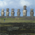 Moai on Easter Island. Photo / Anna Leask