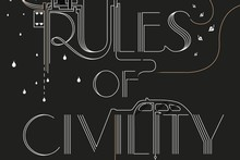 Rules of Civility book cover. Photo / Supplied