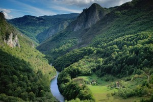 Montenegro's 82-kilometre-long  Tara River Canyon is the second-deepest canyon in the world after the Grand Canyon in the United States. Photo / Thinkstock