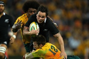 It is believed that Zac Guildford was involved in an alcohol-related incident following the All Blacks' Tri-Nations loss to Australia in Brisbane. Photo / Getty Images