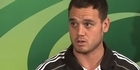 Watch: Carter, Dagg talk about upcoming clash with France
