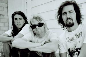 Nirvana: (from left) Dave Grohl, Kurt Cobain, Krist Novoselic.