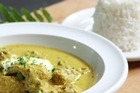 Monsoon Poon-inspired Thai yellow chicken curry. Photo / Supplied
